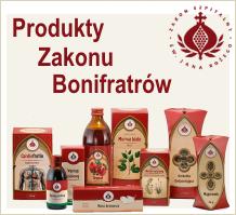 Zioła produkty zakonu bonifratów, zioła bonifratów, produkty bonifraterskie
