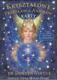 Kryształowe przesłania aniołów (książka + karty)